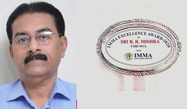 WCL CMD Mishra gets IMMA