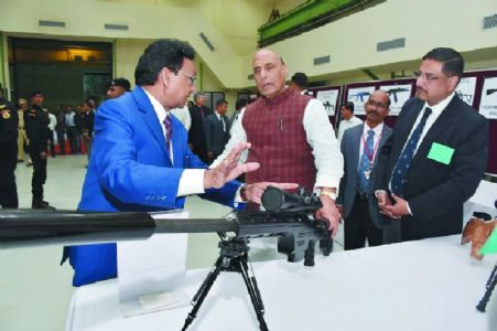Defence Minister appreciates OFAj for state-of-the-art machinery, high standards