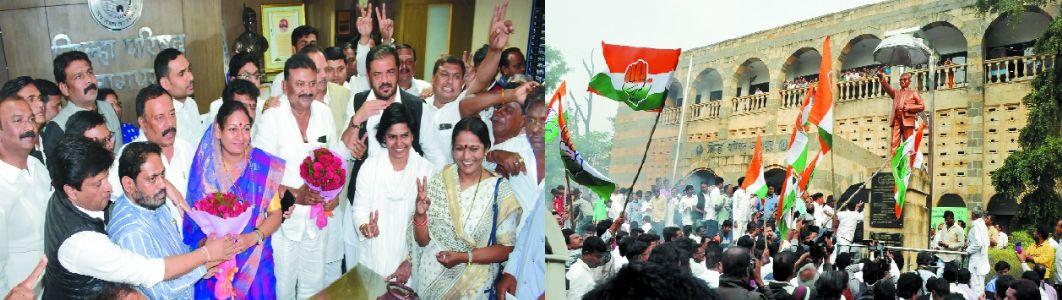 ZP: Cong's Rashmi Barve new President, Manohar Kumbhare is Vice-President