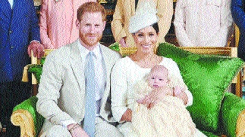 Prince Harry Meghan sign