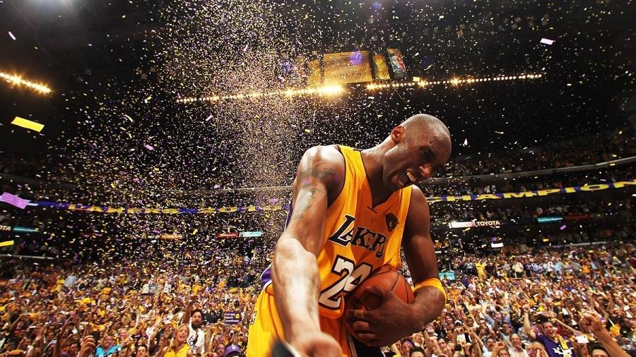 NBA legend Kobe Bryant ei