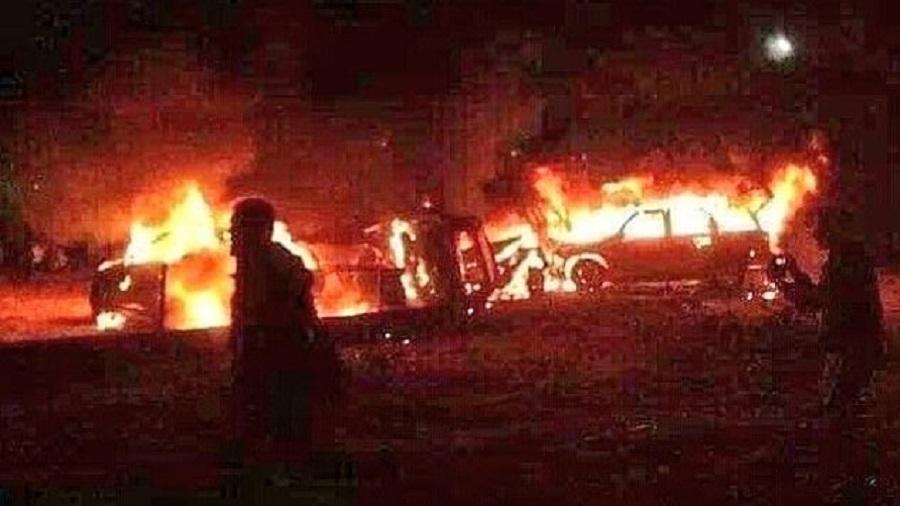 Fresh airstrike on pro Ir