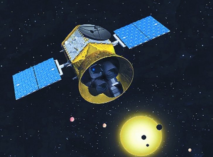 Planet hunter satellite T