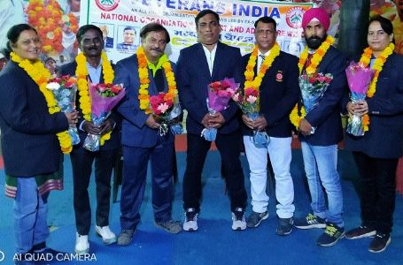 Veteran India MP Chapter's State Joint Secretaries named