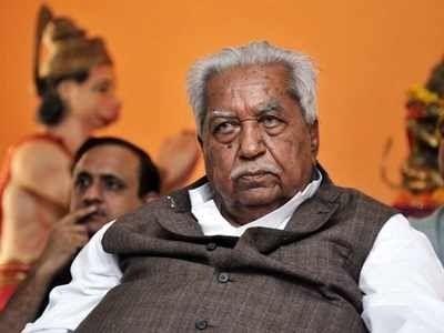 Ex-Gujarat CM Keshubhai Patel passes away