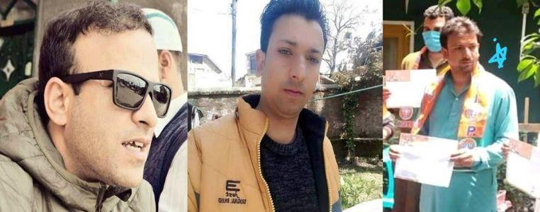 Three BJP workers shot dead in J&K