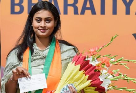 Arjuna awardee Shreyashi Singh joins BJP, may contest Bihar polls