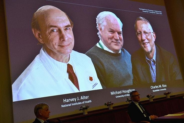 3 win Nobel medicine priz