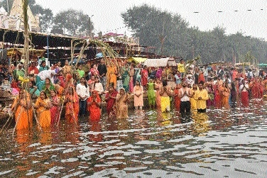 Women to end Chhath Puja_
