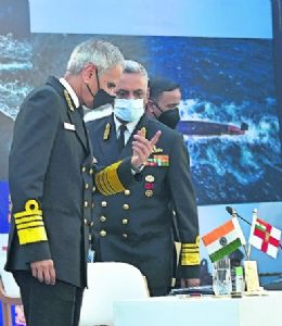 Navy alive to various threats in maritime domain: Admiral Singh