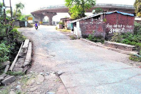 Bridge connecting Ranjhi to Ricchai in pathetic condition