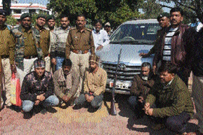 5 accused arrested for po