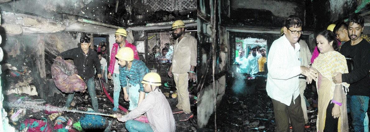 Major fire in residential
