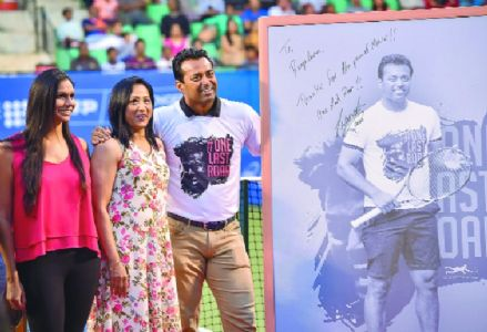 Paes given a befitting farewell