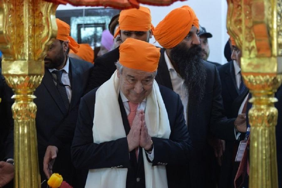 UN chief visits Kartarpur