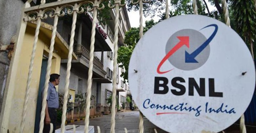 BSNL employee unions call