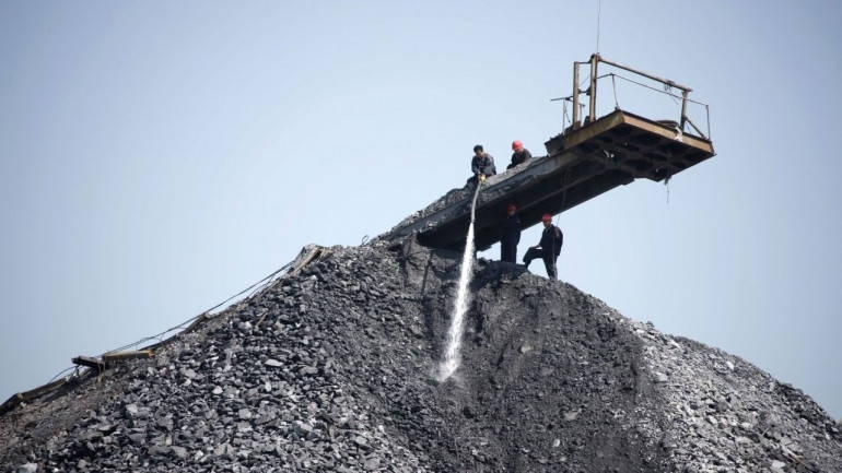 Coal imports at major por