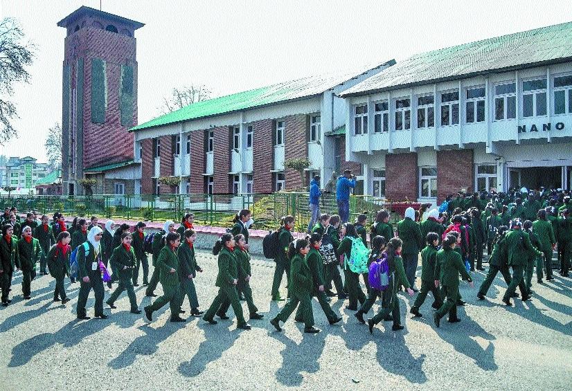 Kashmir students_1&