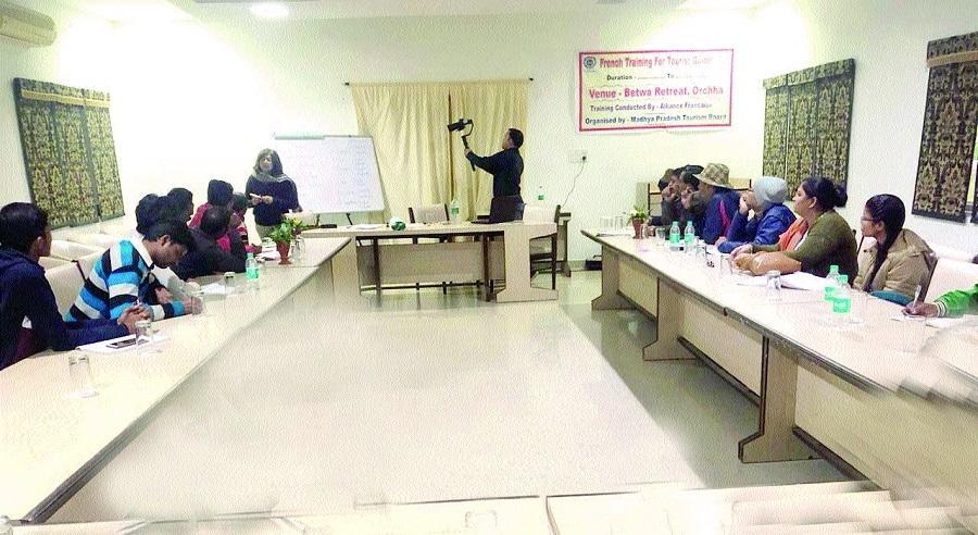 Training of foreign langu