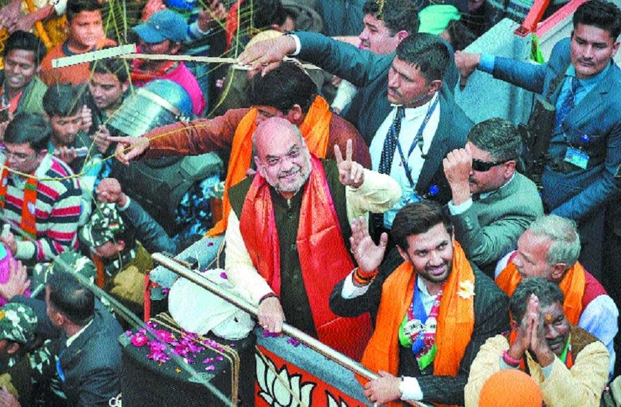 Campaigning for Delhi ele