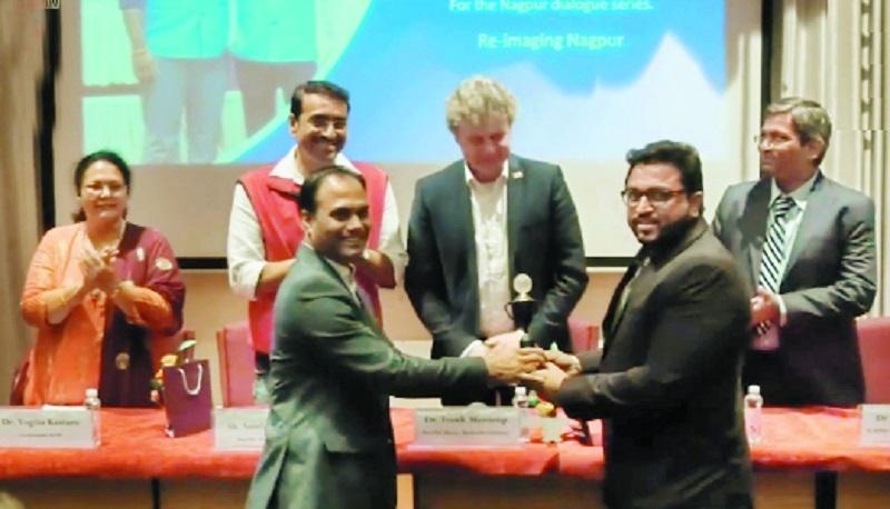Nagpur prestigious award_