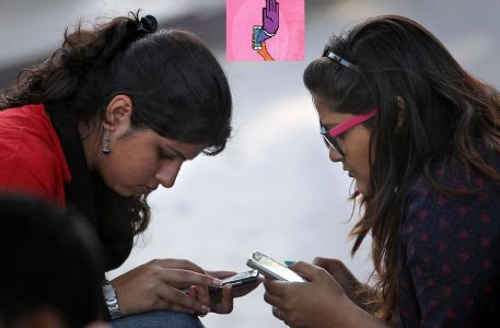 'Getting rid of mobile addiction'