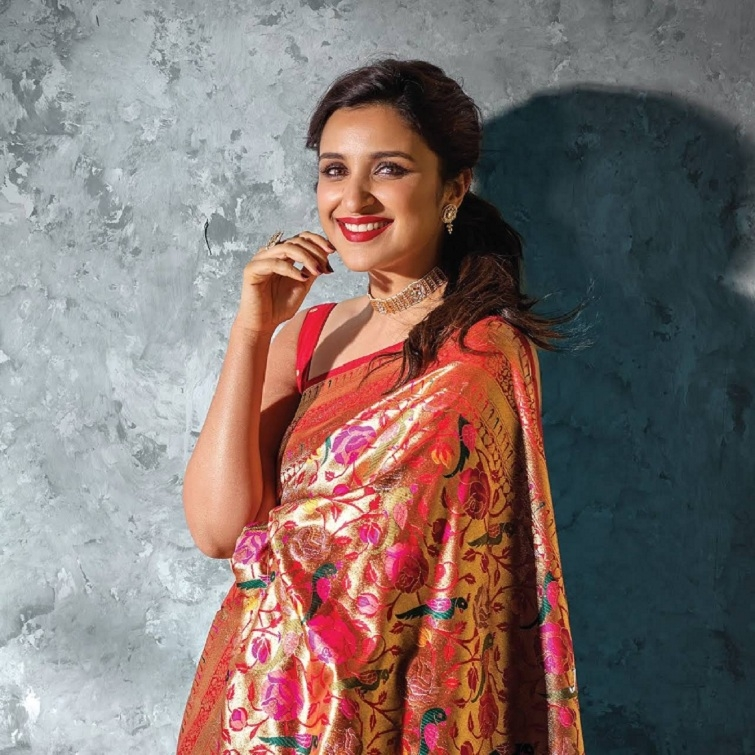 parineeta chopra in saree