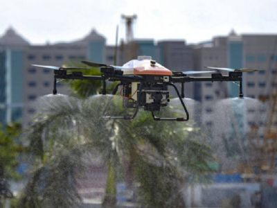 IIT alumni develop drone with infrared camera for thermal screening