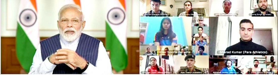 PM seeks support of sports heroes; stars promise to do their bit