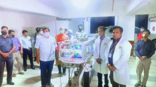 City hospital develops 'Covi-Safe', donates to IGGMCH