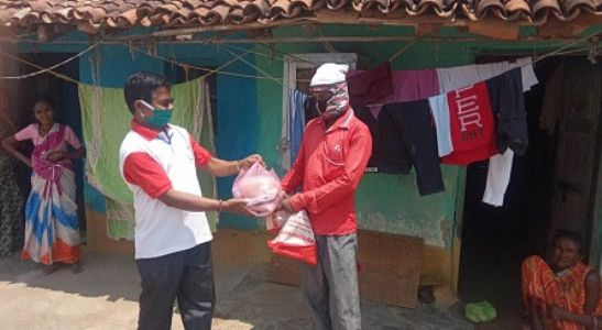 Over 1,000 Indian Red Cross Society members helping 18,000 needy