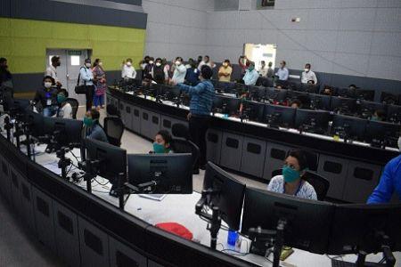 MP Singh checks arrangements at corona control room