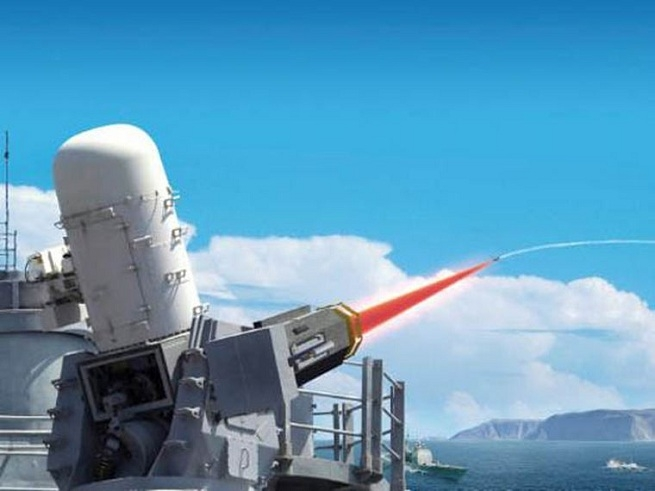 Laser weapon system_1&nbs