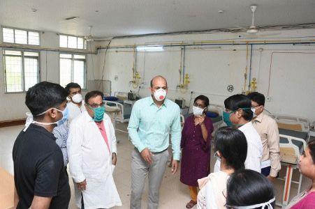 Now, Shankaracharya Hospital to nurse coronavirus patients