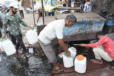 Contaminated water posing threat to residents