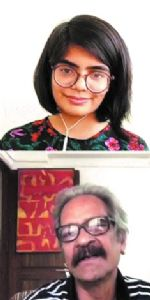 Senior artist Akhilesh Verma shares childhood experience in online session