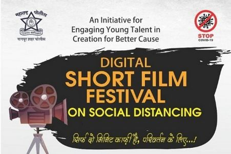 Srushti Dhoke, Faiz Khan bag prize in Nagpur Police Digital Short Film Fest