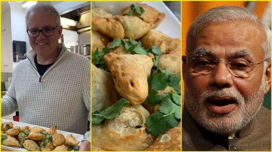 Connected by Indian Ocean, united by Indian samosa, Modi tells Aus PM Morrison