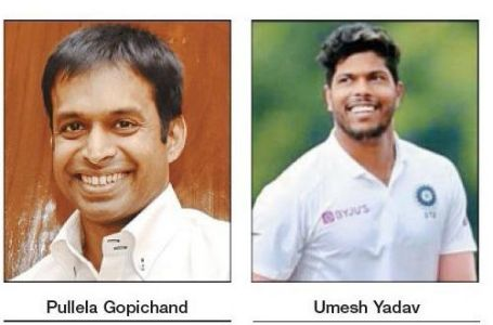 Gopi, Umesh to interact with city sportspersons