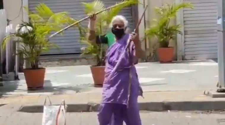 Shantabai Pawar from Pune