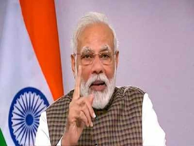 Modi said about coronavir