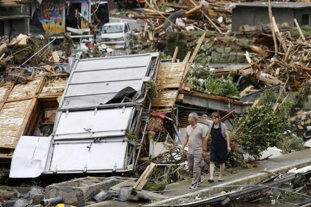 Japan floods toll mounts to 40 as more areas warned of heavy rain
