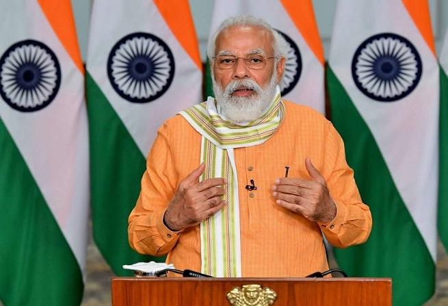 corruption free India pm_