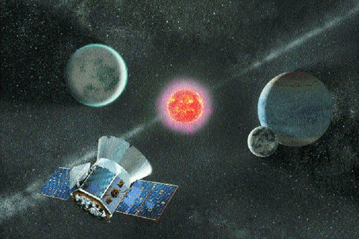 NASAs hunter satellite _1