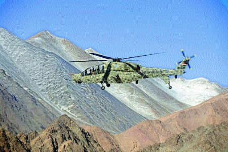 HAL's 2 LCHs deployed at Leh
