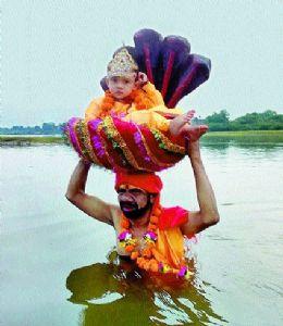 Janmashtami celebrated amid COVID-19 restrictions