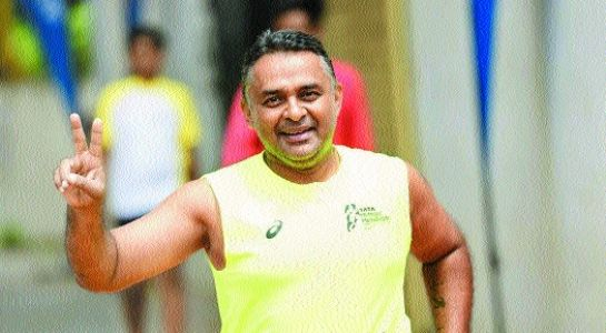 Rambhia to raise funds for war widows with 74 kms run on 74th I-Day