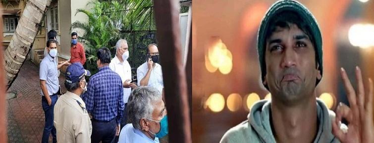 At Sushant's Mumbai residence, CBI recreates sequence of events