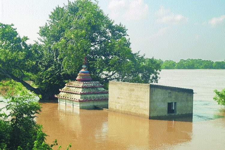 Daya river following rele