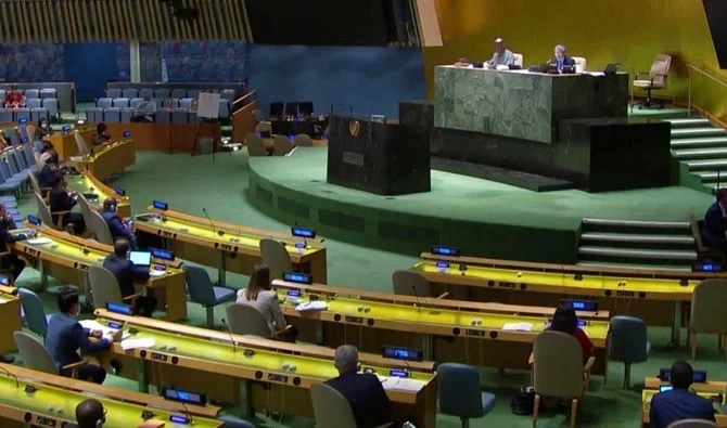 UN General Assembly adopt